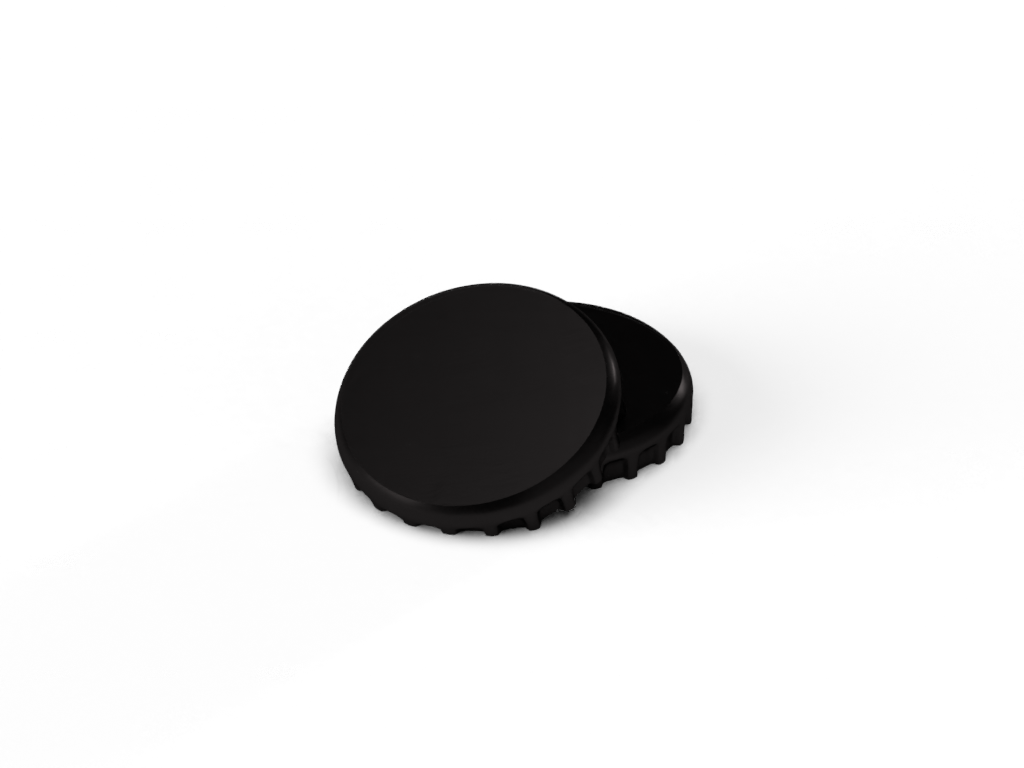 Product image for Black Crown Caps (10,000)