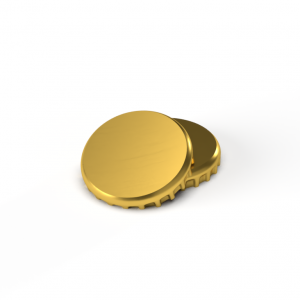 Product image for Gold Crown Caps (10,000)